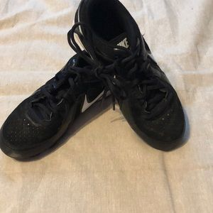 Nike size 3.5 baseball cleats; good condition!